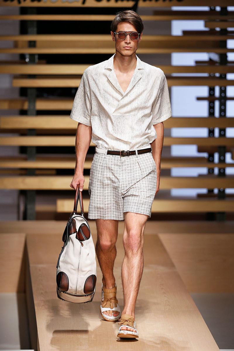 Salvatore FerragamoMenswear Spring Summer 2015 Milan Fashion Week June 2014