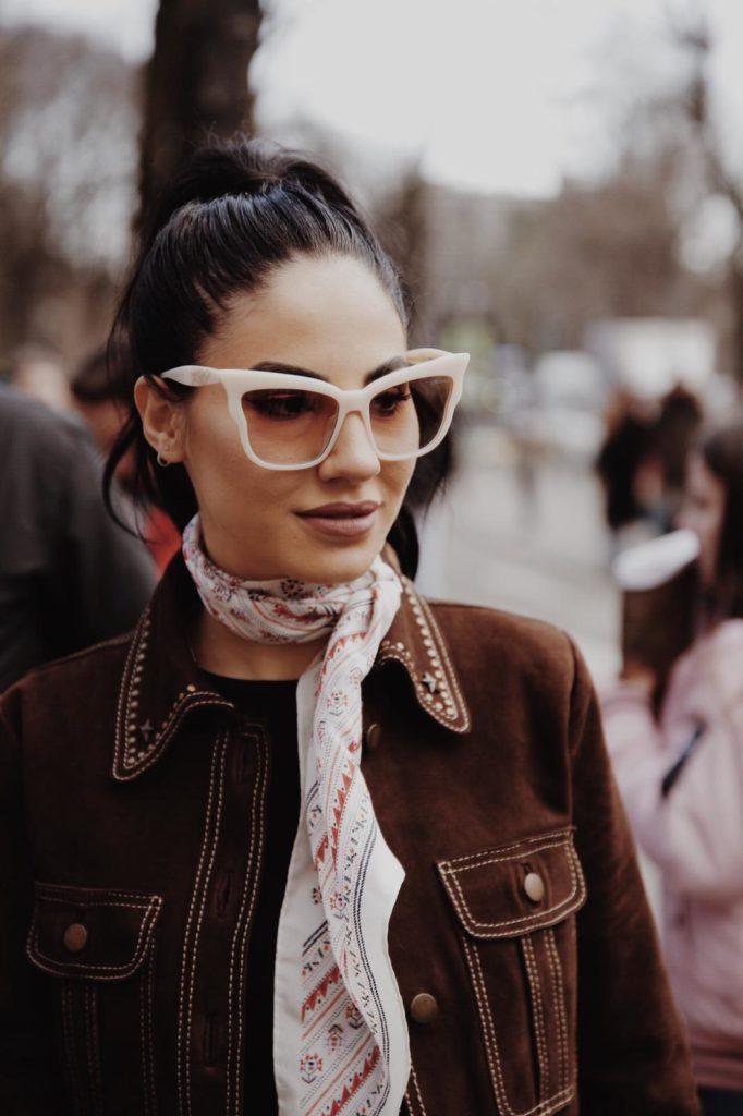 Giulia De Lellis Milano fashion week