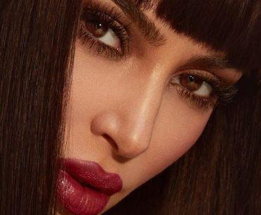 Capelli, Kim Kardashian con la frangia la novità